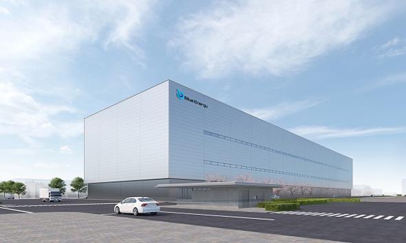 新工場の外観イメージ 出典:GSユアサ