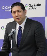 クラリベイト・アナリティクス・ジャパン IPソリューションズ日本部門代表の小島崇嗣氏