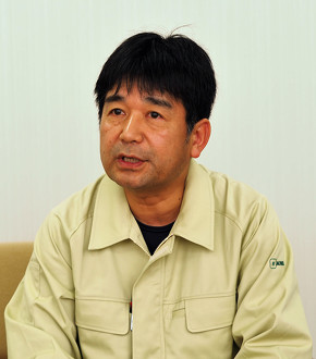 美和ロック 製品設計部 次長の中野昌浩氏