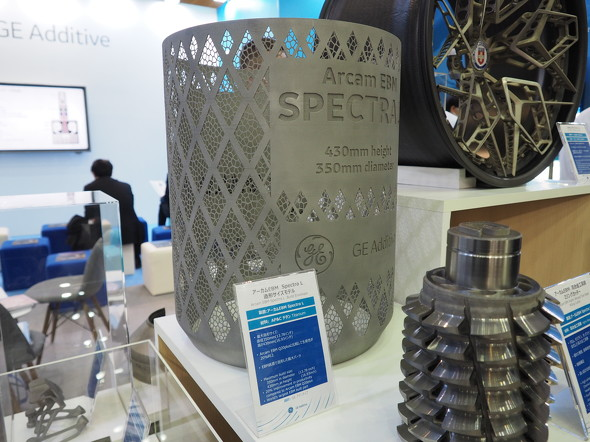 「Arcam EBM Spectra L」の造形サンプル