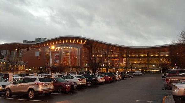 「3DEXPERIENCE World 2020」の会場となったナッシュビルのMusic City Center(筆者撮影)