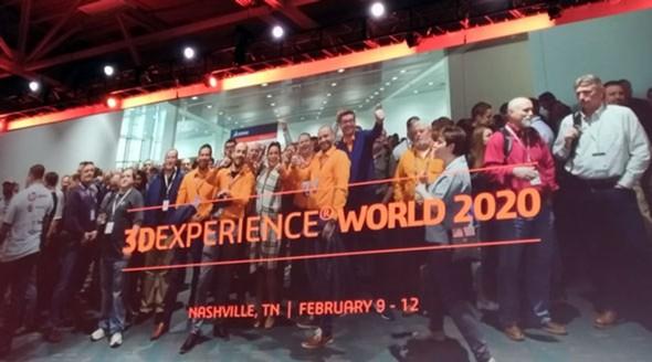 前回の「SOLIDWORKS World 2019」Day1より(筆者撮影)