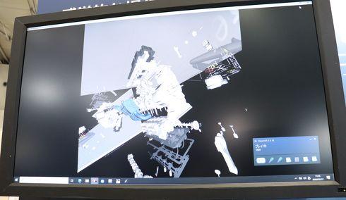 VR空間上に3Dモデルを表示することも可能[クリックして拡大]