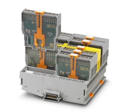 高密度I/Oシステム「Axioline Smart Elements」[クリックして拡大]出典:フエニックス・コンタクト