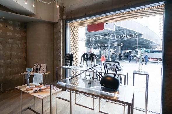 「FabCafe Tokyo」での展示イメージ(出典:FabCafe)
