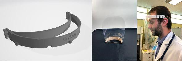 Carbonとパートナー企業で設計したフェイスシールド