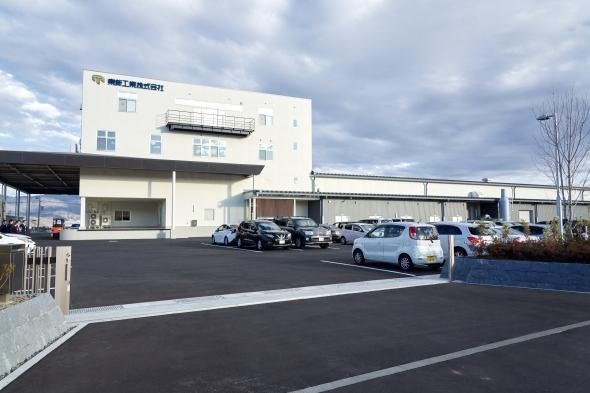 2020年2月から本格稼働を始めた松本工場
