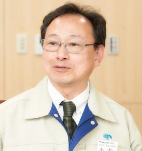 東新工業株式会社 総務部 横浜総務課 主事 小松隆氏