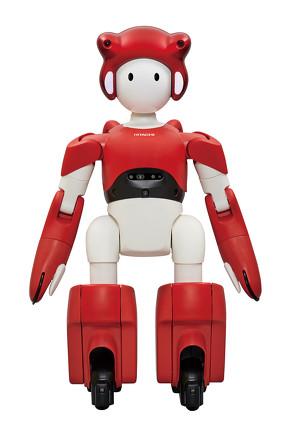 施設内業務を支援するヒューマノイド型コミュニケーションロボット「EMIEW4」[クリックして拡大]出典:日立製作所