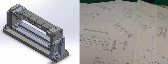図2 設計対象となる治具(過去、筆者が設計したもの)