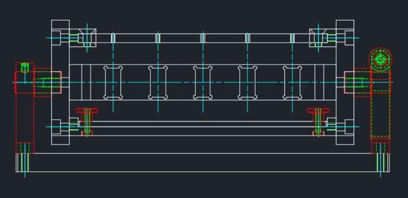 図5 必要な穴コンテンツを全て挿入した状態