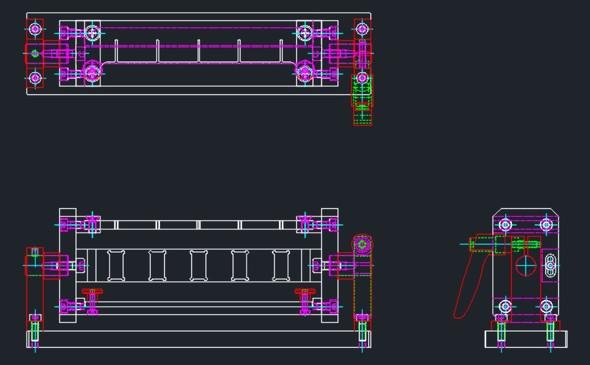 図8 全てのボルトの挿入が完了した状態