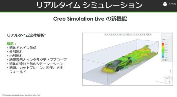 リアルタイムシミュレーション「Creo Simulation Live」に流体解析が追加された