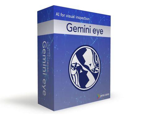 外観検査用AIモデル作成ソフトウェア「Gemini eye」のパッケージ[クリックして拡大]出典:Pros Cons