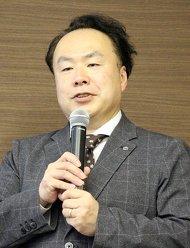 画像1 基調講演に登壇した飯沼ゲージ製作所の土橋美博氏