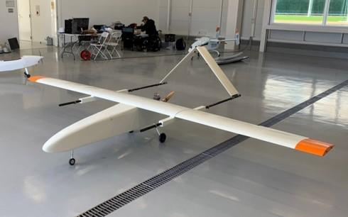 今後実用化を目指す翼長4mの無人航空機の試作品[クリックして拡大]出典:テラ・ラボ