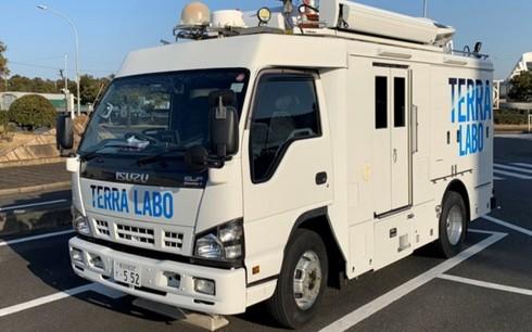 車両型地上支援システムの車両外観[クリックして拡大]出典:テラ・ラボ