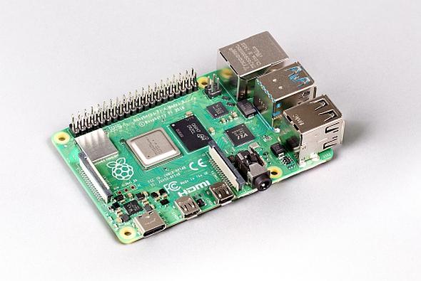 「Raspberry Pi 4 Model B」の8GBモデル