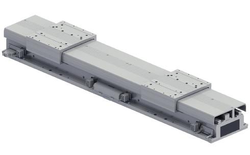 現行機からモジュール構造を改良したリニアコンベヤーモジュール「LCMR200」[クリックして拡大]出典:ヤマハ発動機