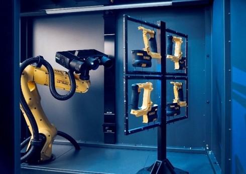 全自動測定装置「ATOS ScanBox」を組み合わせた全自動測定