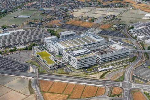 デンソーが開所した「電動開発センター」の外観