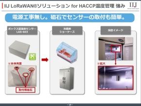 ボックス型温度センサー