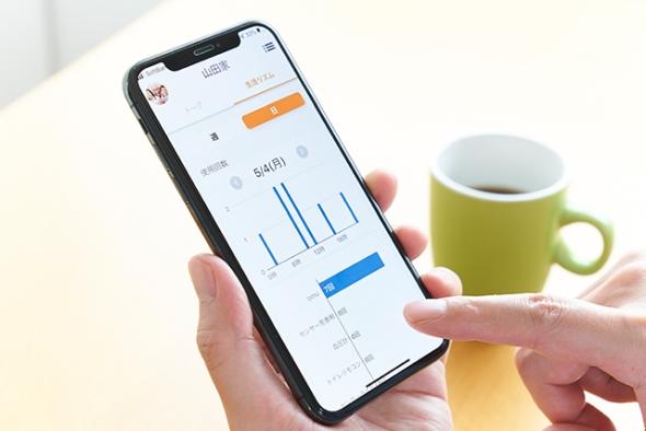 スマートフォンアプリの利用イメージ