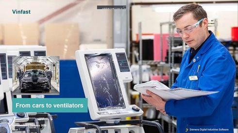 COVID-19により突然の生産計画変更への対応を余儀なくされる企業も[クリックして拡大]出典:Siemens Digital Industries Software