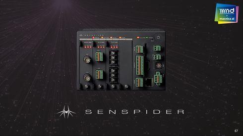 センシングデータの前処理を行うエッジコンピューティング端末「SENSPIDER」[クリックして拡大]出典:マクニカ