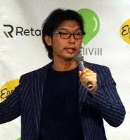 Eggs'n Things Japan 代表取締役の松田公太氏