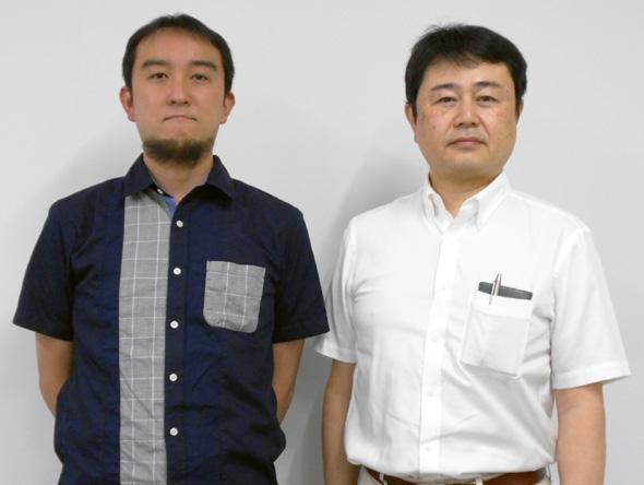 堀貴志氏(左)と野田祐司氏(右)