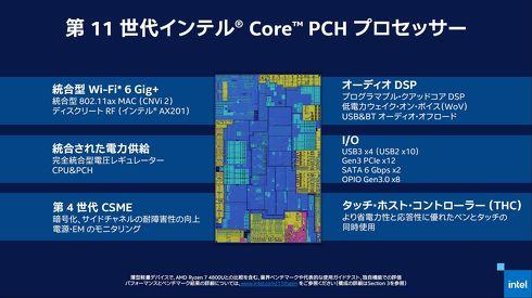 PCHプロセッサの機能を集約したイメージ図[クリックして拡大]出典:インテル