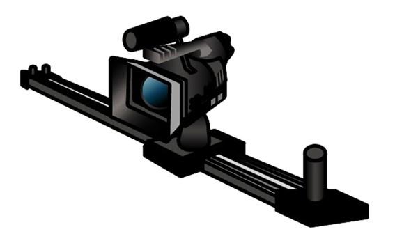 「カメラスライダー」のイメージ