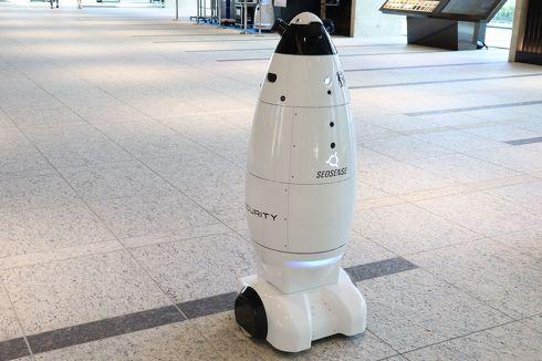 警備ロボット「SQ-2」[クリックして拡大]