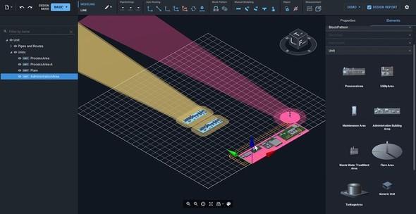 3D表示で直感的な配置操作が可能