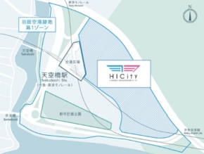 HICityの位置