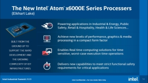 「Intel Atom x6000Eシリーズ」の特徴