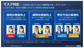 マスク対応顔認証エンジンに必要な技術要素
