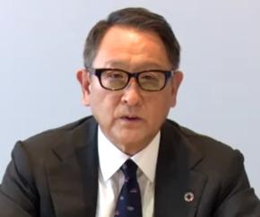自工会の会長を2期連続で務める豊田章男氏