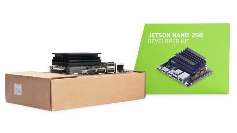 「Jetson Nano 2GB」開発者キットのパッケージ