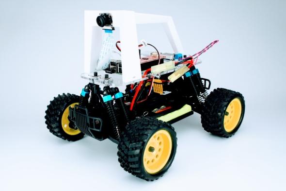 FaBoの教材キット用いて組み上げた「Donkey Car」
