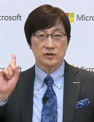 日本マイクロソフトの吉田仁志氏