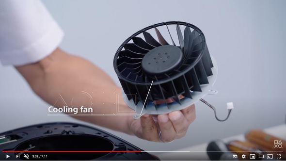 両面吸気式の大型冷却ファン