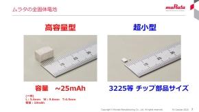 高容量型と超小型の2種類で展開