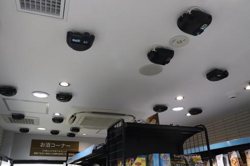 天井には約30台のカメラを設置[クリックして拡大]出典:TOUCH TO GO
