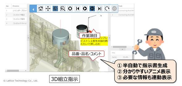 タブレット3Dで、図面レスを推進