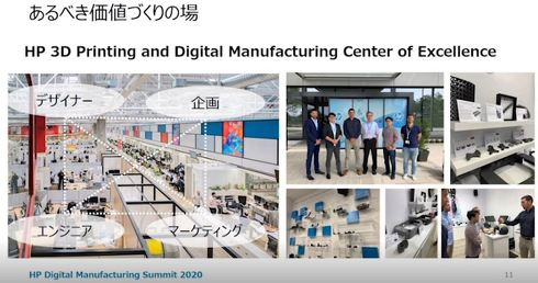 あるべき価値づくりの場(HP 3D Printing and Digital Manufacturing Center of Excellence)