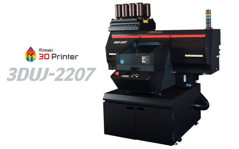 UV硬化インクジェット方式3Dプリンタのエントリーモデル「3DUJ-2207」