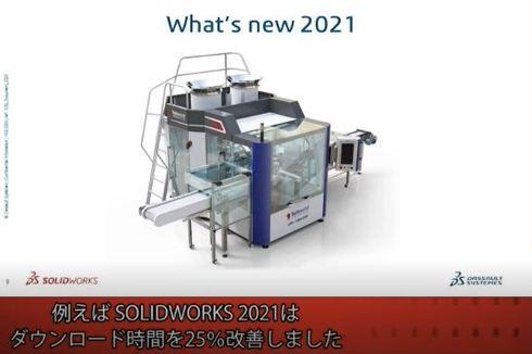 パフォーマンスのさらなる改善に取り組んだ「SOLIDWORKS 2021」