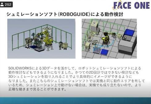 ROBOGUIDEを活用した動作シミュレーション
